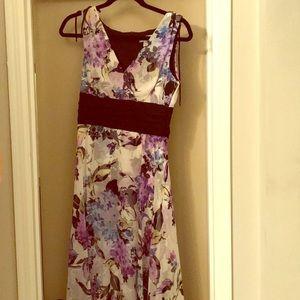 Dressbarn Floral Summer Flutter Dress